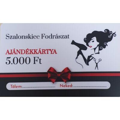 SzalonSkicc ajándékkártya 5.000,-Ft értékben