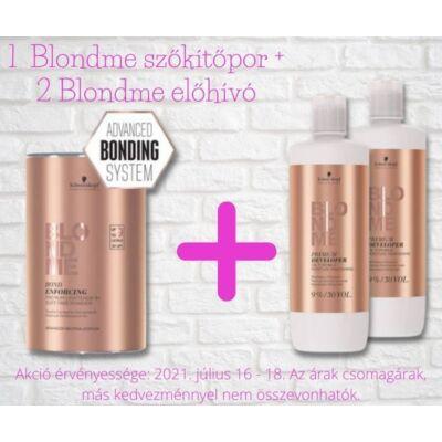 Blondme Akciós csomag - 1 Blondme szőkítőpor + 2 Blondme prémium előhívó