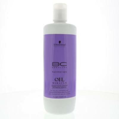Schwarzkopf Professional Bonacure Oil Barbary Sampon, 1000ml