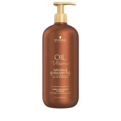 Schwarzkopf Professional Oil Ultime Argan Barbary Fig sampon száraz és durva hajra 1000ml