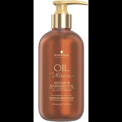 Schwarzkopf Professional Oil Ultime Argan Barbary Fig sampon száraz és durva hajra 300ml