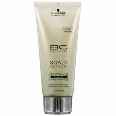 Schwarzkopf Professional Bonacure Scalp Genesis fejbőrnyugtató hajsampon, 200ml