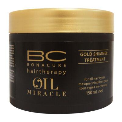 Schwarzkopf Professional Bonacure OIL MIRACLE Arany fényű hajpakolás 150ml