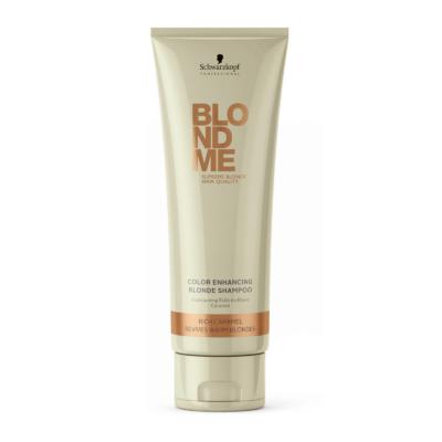 Schwarzkopf Professional BlondMe Melegszőke sampon 250ml