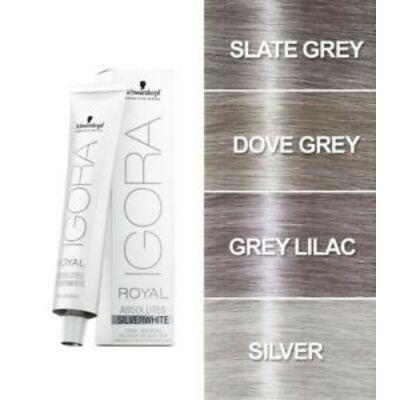 Schwarzkopf Professional SilverWhite Igora Royal Absolutes Slate Grey